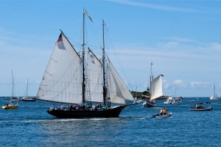 Schooner Festival Gloucester Parade of Sail copyright Kim Smith - 37