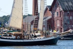 Schooner Festival Gloucester Parade of Sail copyright Kim Smith - 44 copy