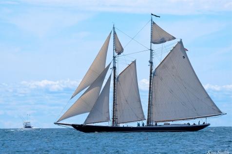 Schooner Festival Gloucester Parade of Sail copyright Kim Smith - 64 copy