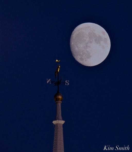 Massachusetts State House Winter Full Moon copyright Kim Smith.JPG