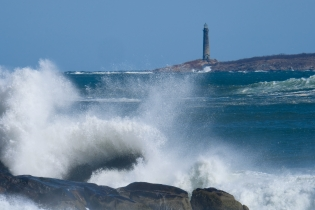 North Light Thacher Island Waves Rockport Coast Storm copyright Kim Smith - 13 of 37