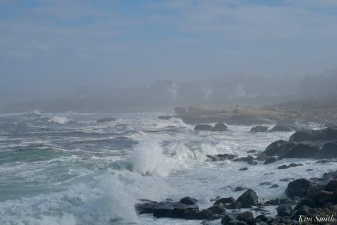Back Shore Gloucester Fog Lifting copyright Kim Smith - 6 of 23