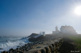 Eastern Point Lighthouse Gloucester Fog Lifting copyright Kim Smith - 8 of 23