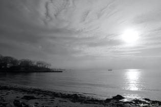 Raymond's Beach Gloucester Fog Lifting copyright Kim Smith - 17 of 23