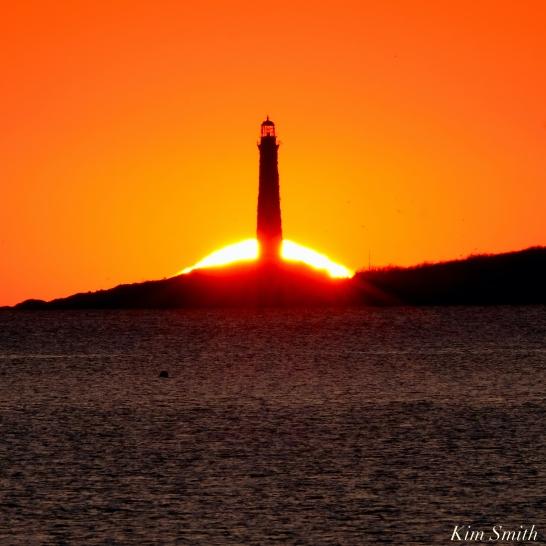 Thacher Island Twin Lights Lighthouses Sunrise copyright Kim Smith - 1 of 5
