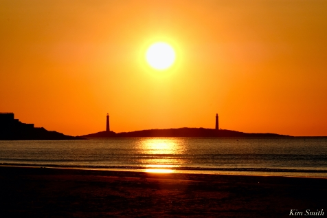 Thacher Island Twin Lights Lighthouses Sunrise copyright Kim Smith - 5 of 5