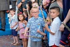 Kids Anticipation Saint Peter's Fiesta 2019 copyright Kim Smith - 01