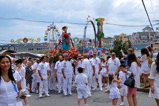 Saint Peter's Fiesta Sunday Procession 2019 copyright Kim Smith - 04