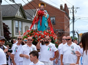 Saint Peter's Fiesta Sunday Procession 2019 copyright Kim Smith - 07
