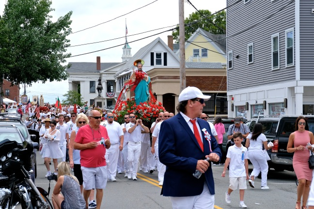 Saint Peter's Fiesta Sunday Procession 2019 copyright Kim Smith - 09