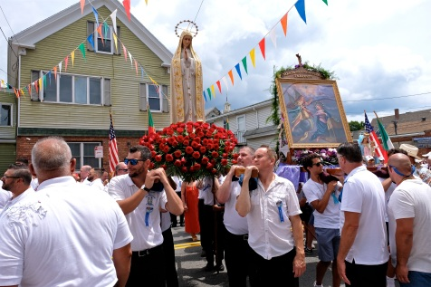 Saint Peter's Fiesta Sunday Procession 2019 copyright Kim Smith - 21