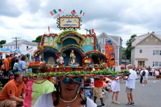 Saint Peter's Fiesta Sunday Procession 2019 copyright Kim Smith - 29