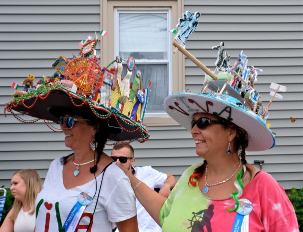 Saint Peter's Fiesta Sunday Procession 2019 copyright Kim Smith - 34