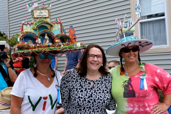Saint Peter's Fiesta Sunday Procession 2019 copyright Kim Smith - 35