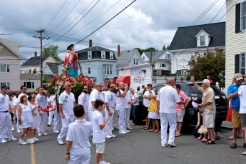 Saint Peter's Fiesta Sunday Procession 2019 copyright Kim Smith - 36