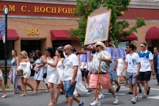 Saint Peter's Fiesta Sunday Procession 2019 copyright Kim Smith - 69