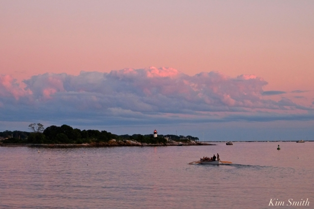 seine-boat-practice-ten-pound-island-lighthouse-copyright-kim-smith